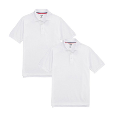 NEW French Toast Official Schoolwear Boys Polo Shirt 2 Pack