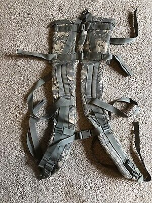 ACU MOLLE II LARGE RUCK ENHANCED SHOULDER STRAP Load Lifter Quick Release Straps