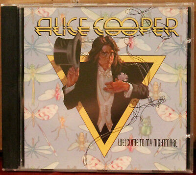 ATLANTIC CD-19157: Alice Cooper - Welcome to My Nightmare - 1987 CANADA