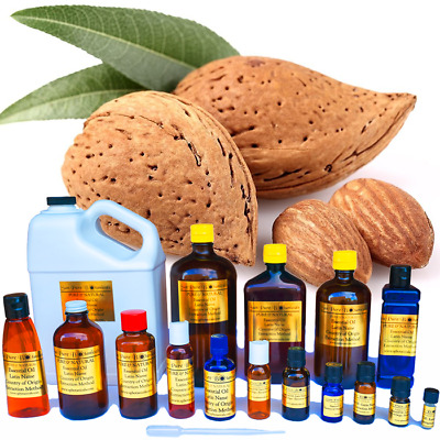 16 oz SWEET ALMOND CARRIER OIL - GREAT FOR THE SKIN !