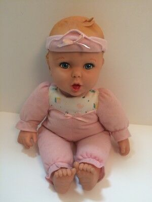 Gerber Talking Baby Doll Vintage 1994 Toy 3 Levels Speech Therapy Educational