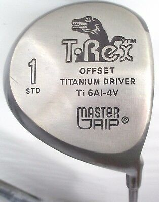 T-Rex Offset Titanium Driver Std Ti 6Al-4V Graphite Shaft Senior-Flex Golf Club
