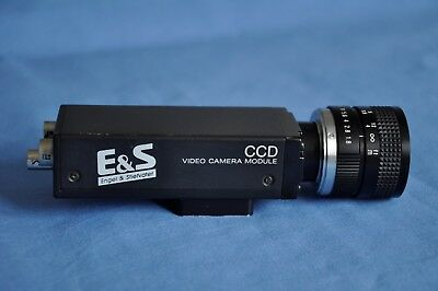 Sony CCD Video Camera Module Model XC-77,Computar TV Lens 25mm 1:1,8