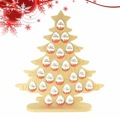 Super sized 18mm Freestanding Christmas Kinder Egg Holder Advent Calendar - CHRI