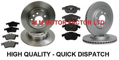 VAUXHALL VECTRA C 1.8 1.9 2.0 2.2 CDTI FRONT and REAR BRAKE DISCS AND PADS SET