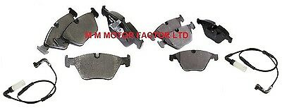 FOR BMW E60 E61 REAR BRAKE PAD SENSORS 2003-2010 518 520 525 530 TOP QUALITY