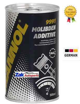 9991 MANNOL MOLIBDEN MOTOR OIL ADDITIVE, ENGINE OIL ADDITIVE, 300ml Oil Additive
