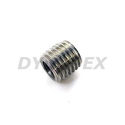 Fitting Reducer Metric M12 M12X1.75 Male to M8 M8X1.25 Female Thread Adapter @LG