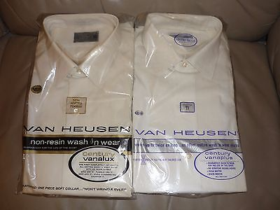 Vintage Men Van Heusen shirts -  - Free Shipping - SALE $22 - Listing Ends 4/6