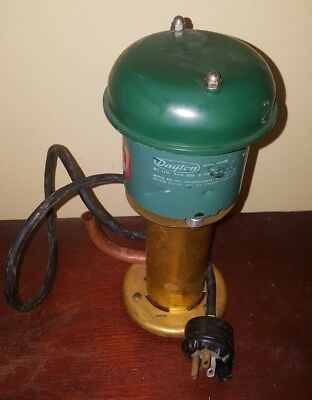 Vintage Dayton Electric Teel Pump 115V model 9M668b