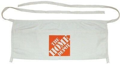 The Home Depot Canvas Work Apron Small Tools Holder Adjustable Strap Pockets