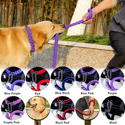 Pet Collar Stereotyped Rope Large Dog Leash Pet Traction Rope Collar For Big Dog