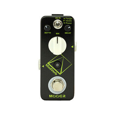 New Mooer ModVerb Modulation & Reverb Guitar Effects Pedal True Bypass