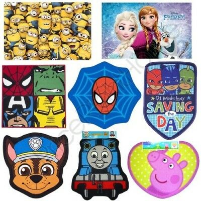 Official Disney And Character Floor Rugs – Avengers Batman Pokemon Peppa & More