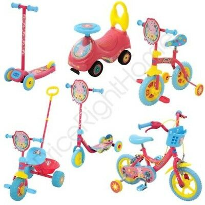 Peppa Pig Outdoor Range Choose From My First Ride On, Trike, Scooter & Bikes