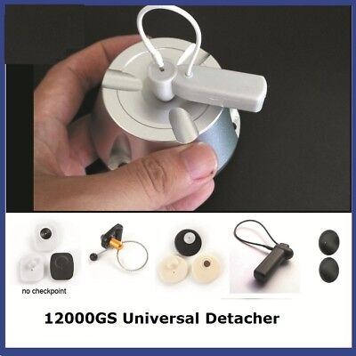 Universal 12000gs Magnetic Hard Tag Remover EAS Tag Detacher With Hole Design