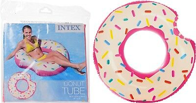 Intex Inflatable Giant Swim Ring Swimming Pool Beach Holiday Novelty Donut Float