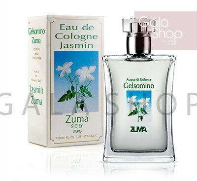 Zuma Acqua Di Colonia Gelsomino Spray 100Ml Eau De Cologne Profumo Unisex