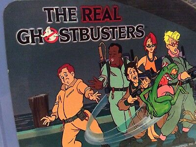 vintage 1984-6 The Real Ghostbusters lunchbox