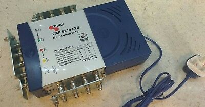Triax TMP 5 x 16 Mains Powered Multiswitch - 305375