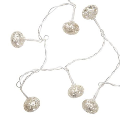 NEW Silver Colour ASTERIA 1.9m string lights By Freedom