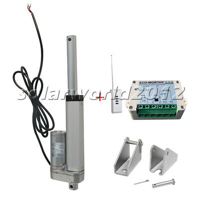 "4"" Linear Actuator W/ Wireless Remote Control Kit for Industry,Medical,Window"