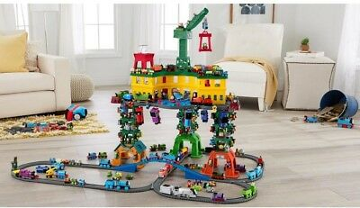 Thomas And Friends Super Station Wooden Railway Multi-Level Configuration