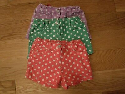 Mini Boden girls shorts bundle age 9, adjustable waists, very good condition