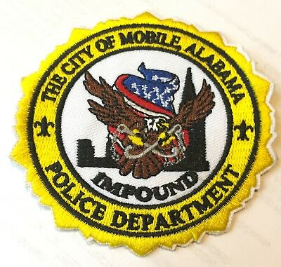 Mobile Police Impound Patch