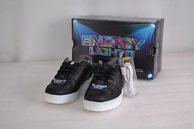 Boy's  Skechers 90601/BLK Energy Lights Elate Sneakers  Black