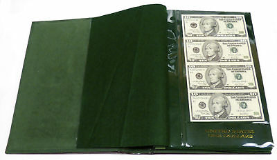 World Reserve Monetary Exchange Book of Uncut Sheets $10 & $20 Star Notes!