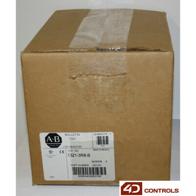 Allen Bradley 1321-3R8-B Line Reactor, 3 Phase, Open Style, 8A, 3.0mh - New S...