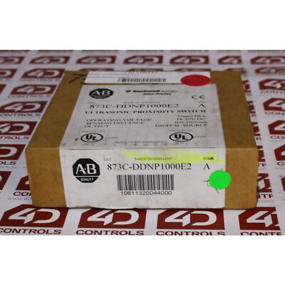 Allen Bradley 873C-DDNP1000E2 Ultrasonic Proximity Switch - New Surplus Open ...