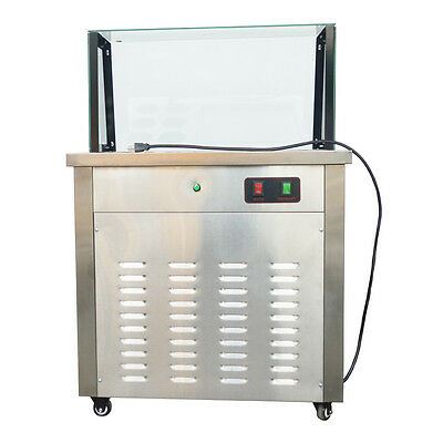 One Pan with Six Buckets Fried Ice Cream Maker Ice Cream Machine for Ice, Fruit