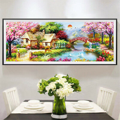 2017 New 5D Colorful Special Diamond Painting Full Diamond  theEuropean cottage