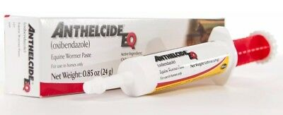 BRAND NEW!!! Anthelcide EQ Equine Wormer Paste, 1 ds .85 oz +FREE Shipping