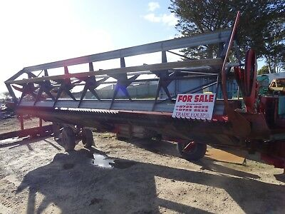 Windrower Case 8210 Pto Drive 6.1 Metres Wide