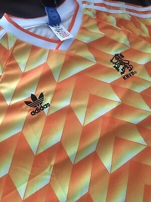 Netherlands 1988 Shirt Medium Retro Holland Euros
