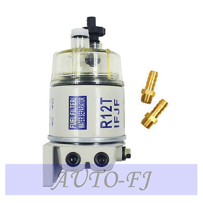 New R12T For Marine Spin-on Fuel Filter / Water Separator 120AT