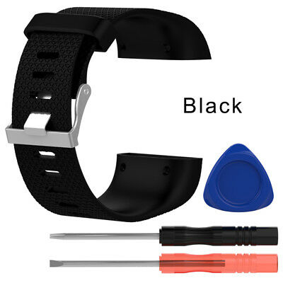 For fitbit surge Replacement Wrist Band Strap Bracelet & Tool USB Charging Cable