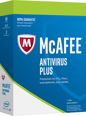 McAfee Antivirus Plus 2017, Unlimited Devices!,  EMAIL DELIVERY Anti virus
