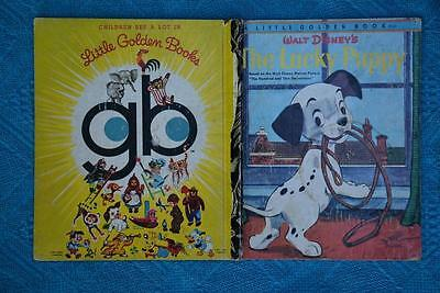 Little Golden Book:1973 The LUCKY PUPPY #D89 gb BACK Sydney Edition.