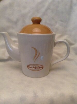 Tim Hortons Classic 2-Cup Coffee Tea Pot 2006 Limited Edition Always Fresh