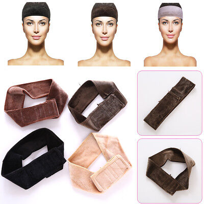 Velvet Wig Grip Headband Scarf Hair Head Band Hairwear Wiggery Accessery Decor