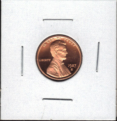 1987-S Proof Lincoln Cent