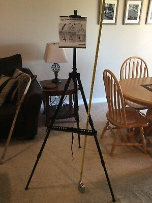 Alvin Co Large Heritage Tripod Easel, With Marker Tray