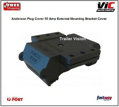 Anderson Plug Cover 50 Amp External Mounting Bracket Cover