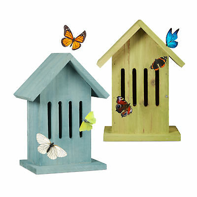 Butterfly House, Hanging Colourful for Garden, Balcony, Patio, Admiral Brimstone