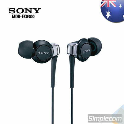 SONY MDR-EX0300 Premium EX Style In-Ear Headphones Earphones for iPod iPhone MP3