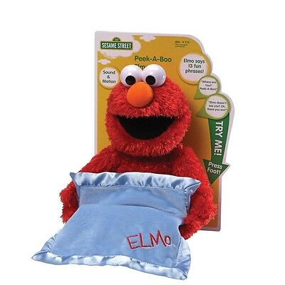 Sesame Street - Peek-A-Boo Elmo with Sound *BRAND NEW*